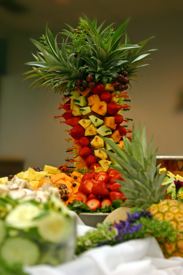 Famous Fruit Displays For Wedding Receptions